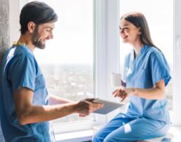 breathable nurse scrubs